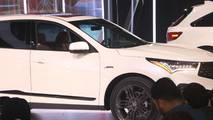2019 Acura RDX at the 2018 New York Auto Show