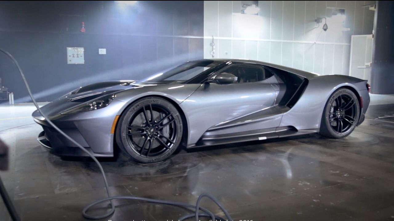 Ford GT Wind Tunnel Testing