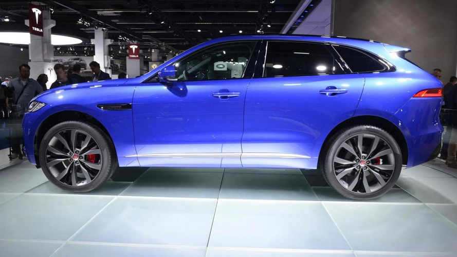 Jaguar F-Pace finally revealed as company's first ever crossover