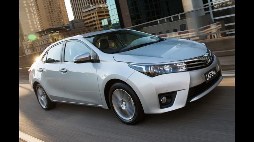 Toyota fecha 2015 na liderança do mercado global; Volkswagen é vice