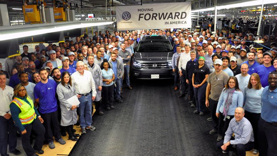 Le Volkswagen Atlas entre en production