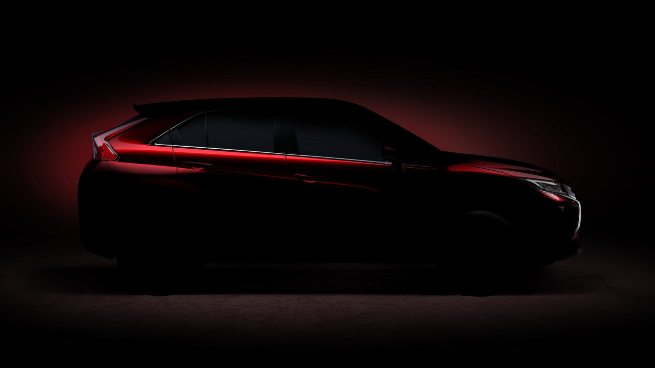 Mitsubishi kompakt crossover teaser