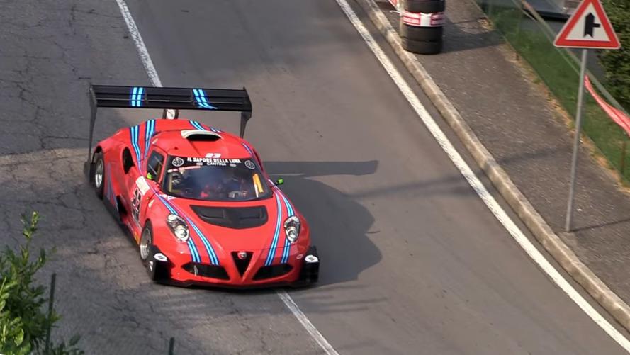 VIDÉO - Une Alfa Romeo 4C de 600 chevaux pour les courses de côtes
