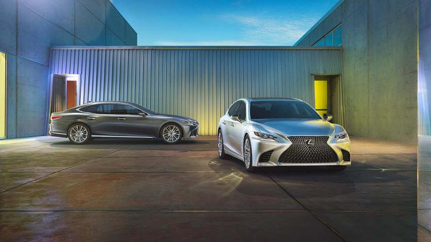 2018 Lexus LS vs. Alman rakipleri