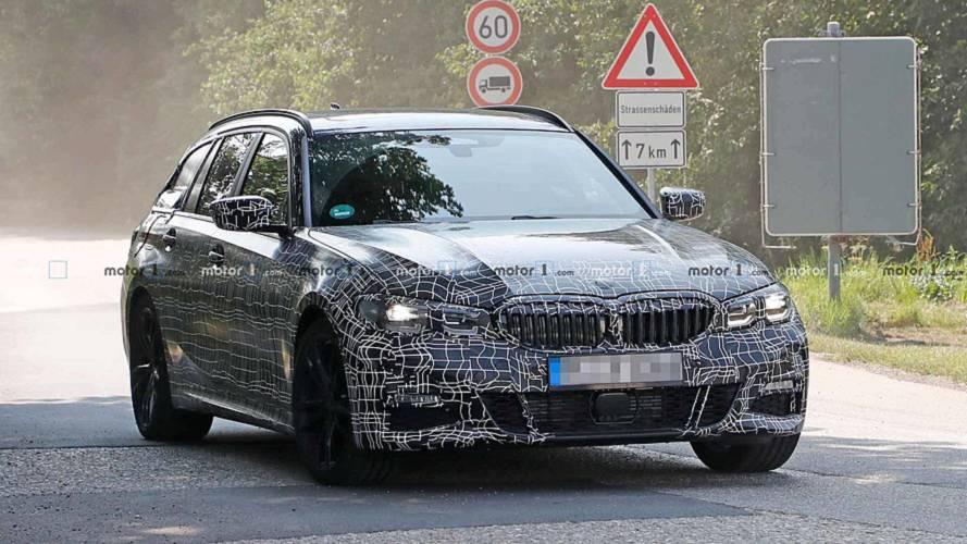 BMW 3 Series Sports Wagon Spy Shots