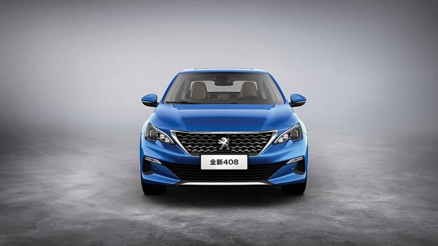 Peugeot présente la 408 restylée en Chine