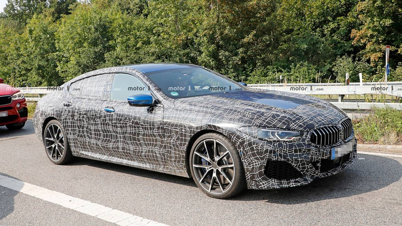 bmw 8 series gran coupe spy photo photos. Black Bedroom Furniture Sets. Home Design Ideas