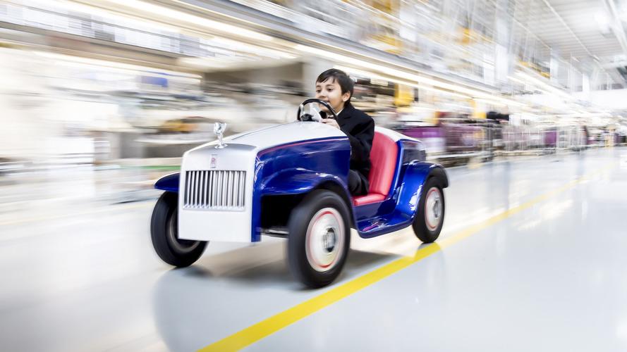 Rolls-Royce SRH 2017, un coche de juguete creado para los niños enfermos