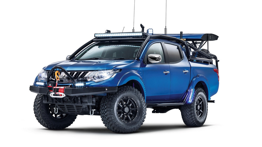 Mitsubishi Special Vehicle Projects Debuts With Rugged L200