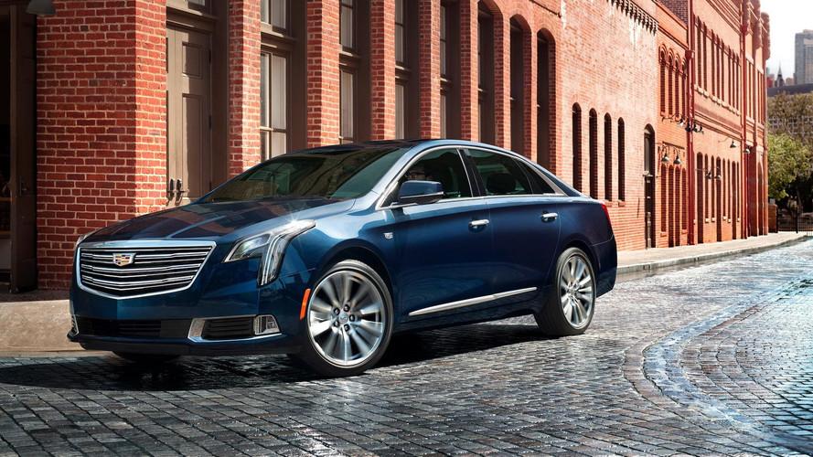 2018 Cadillac XTS makyajlandı