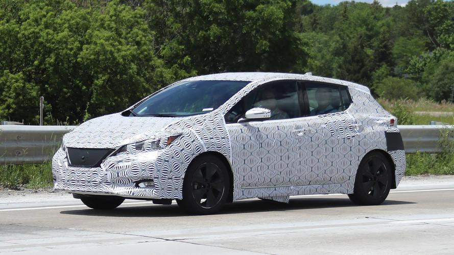 Photos espion - Voici la nouvelle Nissan Leaf