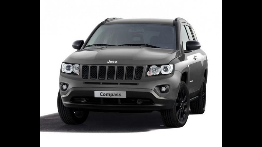 Jeep Compass Black Look Concept será apresentado no Salão de Genebra