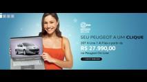 Peugeot inicia vendas pela internet do 207 X-Line WEB