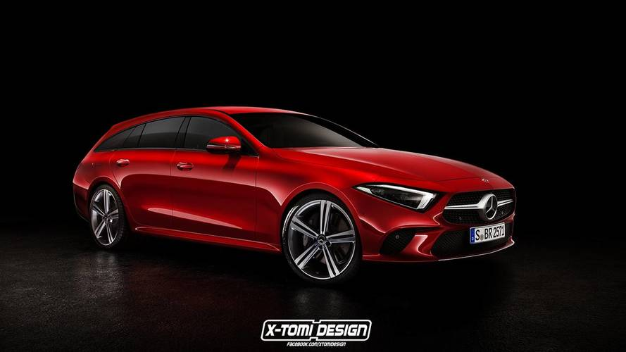 Mercedes CLS Render Bonanza: Coupe, Cabrio, AMG, Shooting Brake
