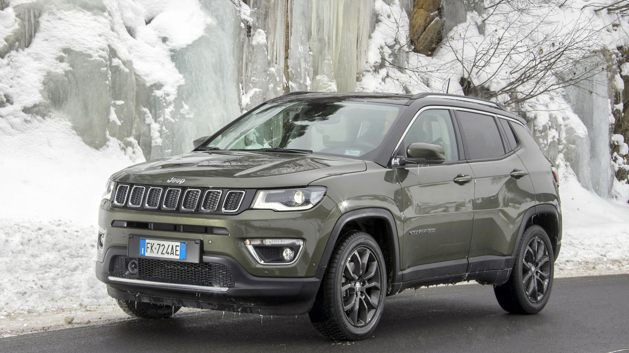 Jeep Compass im Wintertest