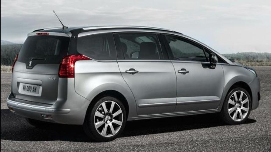 Peugeot 5008 restyling, sconti e promozioni