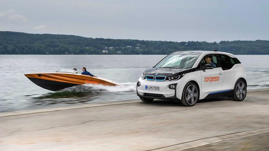 Un bateau équipé des batteries de la BMW i3