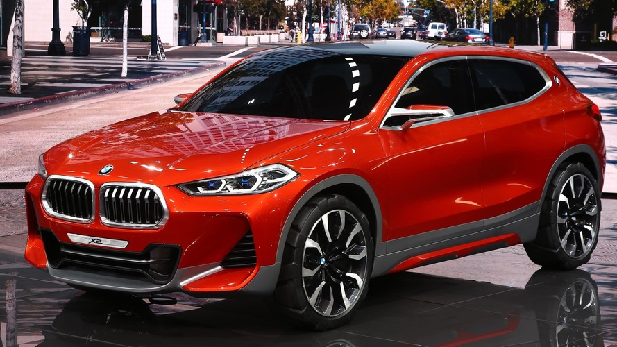 BMW X2 concept arrives in Paris to preview production model