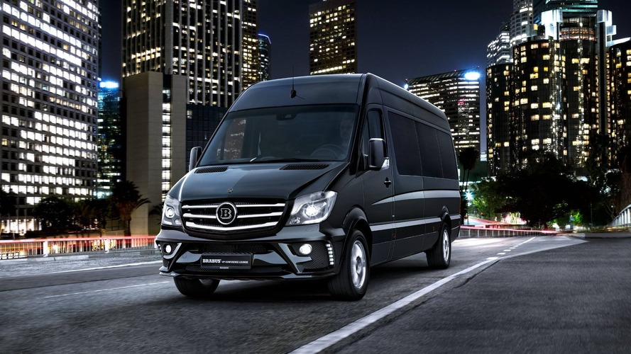 Brabus VIP Conference Lounge - Un luxueux Mercedes-Benz Sprinter