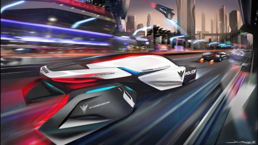 BMW ePatrol: l'auto della polizia del 2025