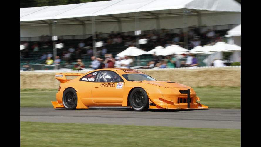 Una Toyota Celica è la più veloce di Goodwood 2011