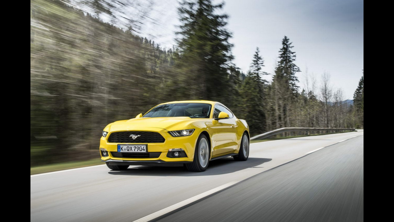 Nuova Ford Mustang