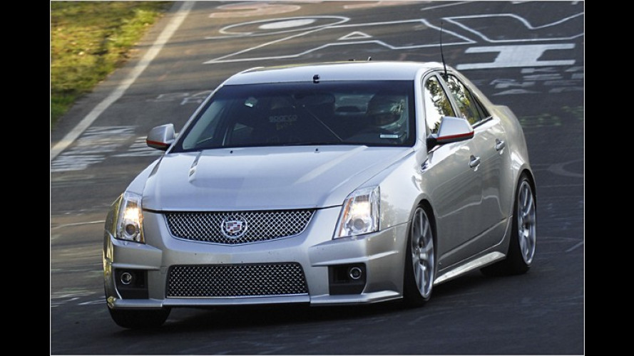Cadillac: Neuer CTS-V fordert BMW M5 und E63 AMG heraus