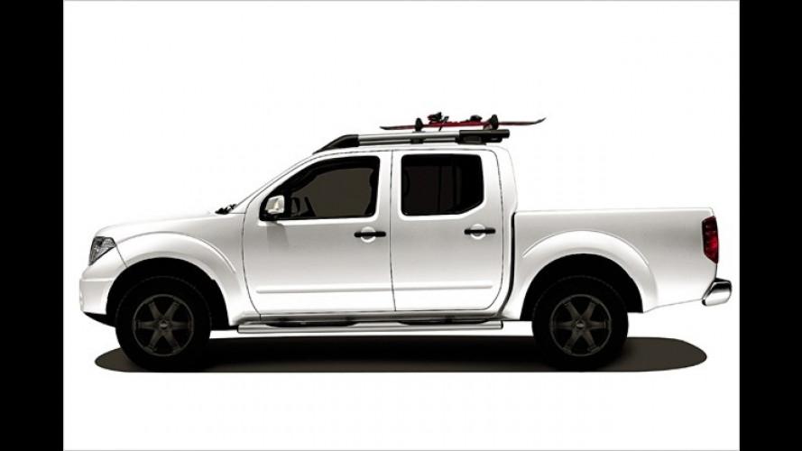 Zwei Nissan-Sondermodelle vom Pathfinder und Navara