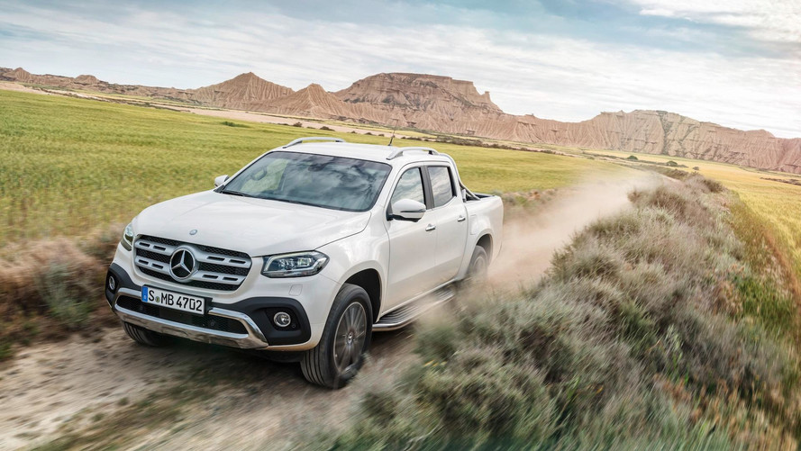 UK prices announced for new Mercedes X-Class pickup