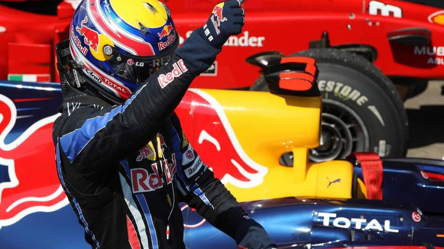 Webber confirms he broke shoulder with four races to go