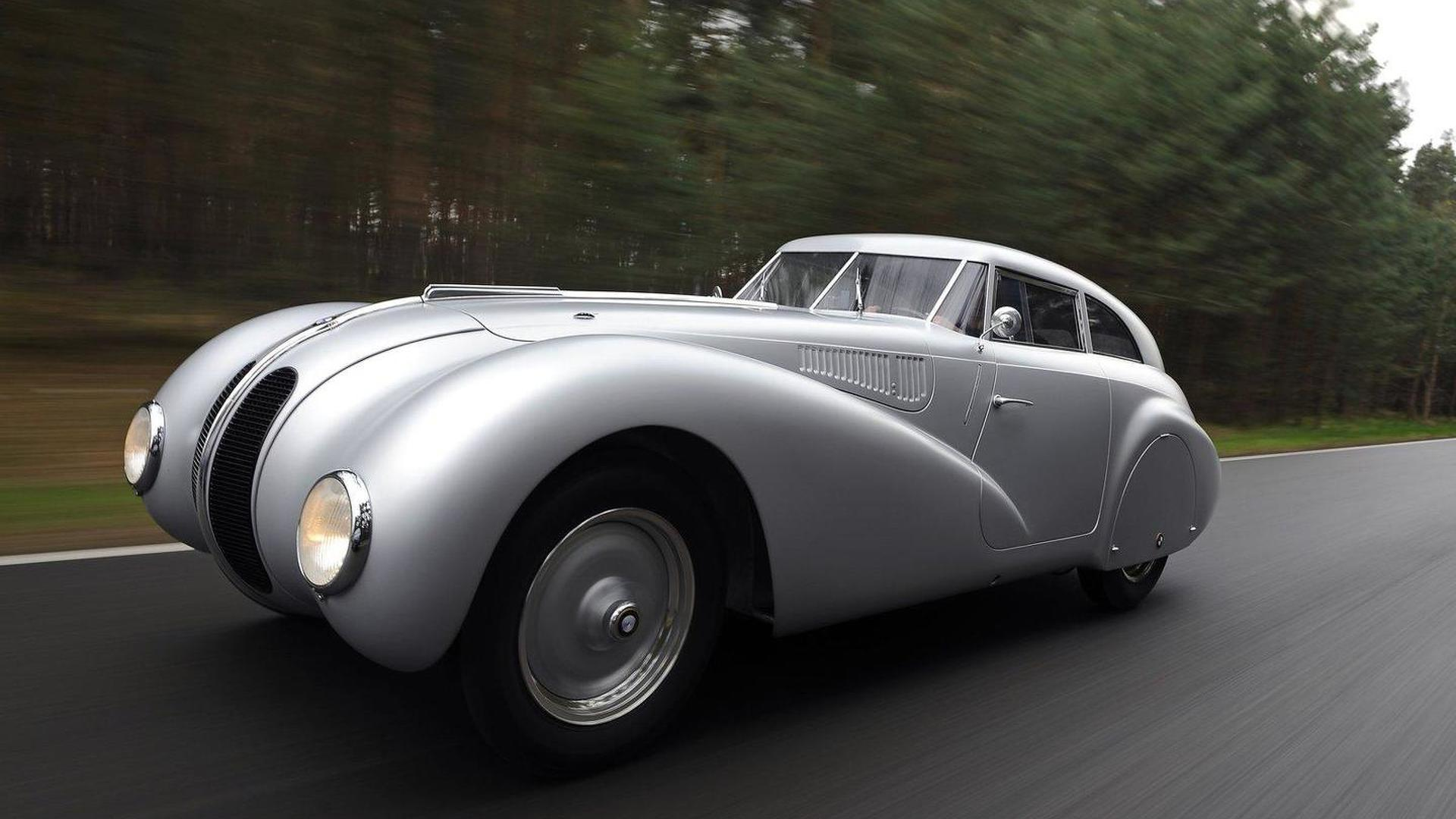 BMW Classic reveals fully recreated 1940 BMW 328 Kamm Coupe