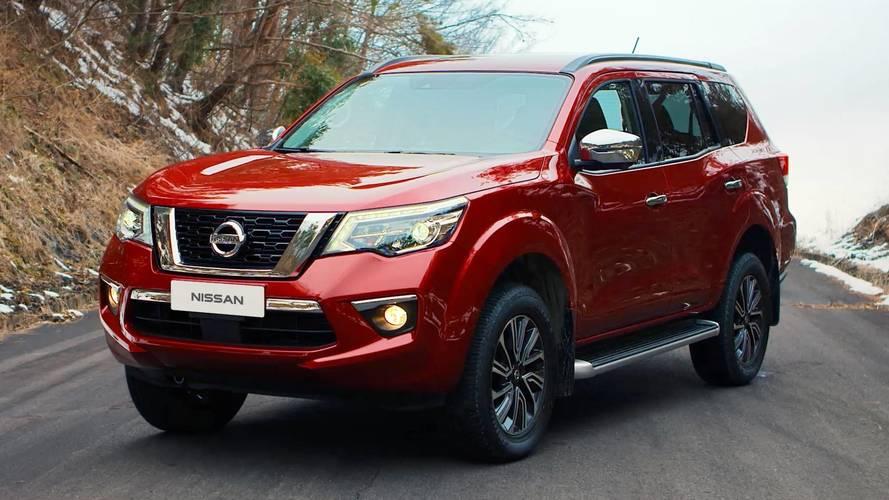 Nissan oficializa estreia do SUV Terra, baseado na picape Frontier