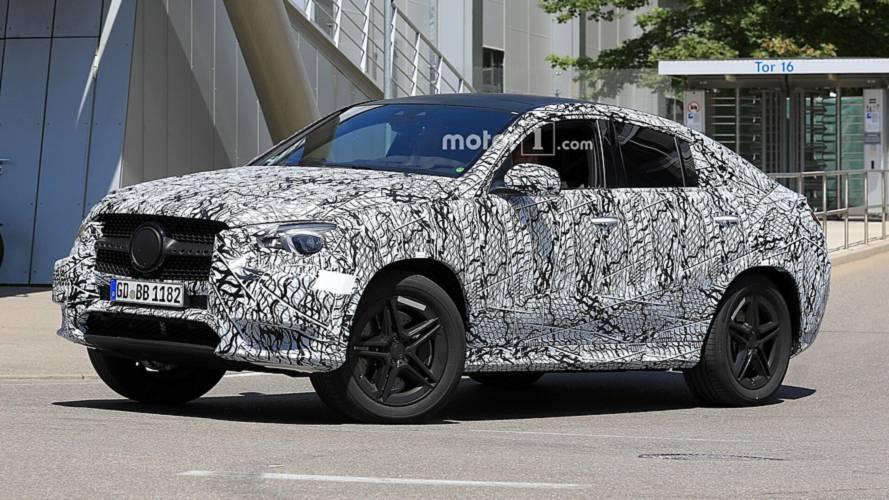 2020 Mercedes GLE Coupe'nin yeni casus fotoğrafları ortaya çıktı