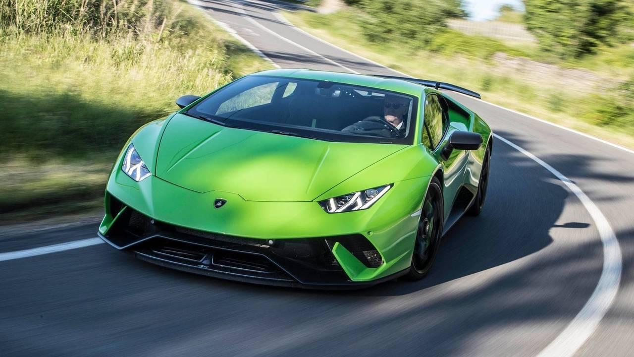 2. Lamborghini Huracán Performante (6'52''01)