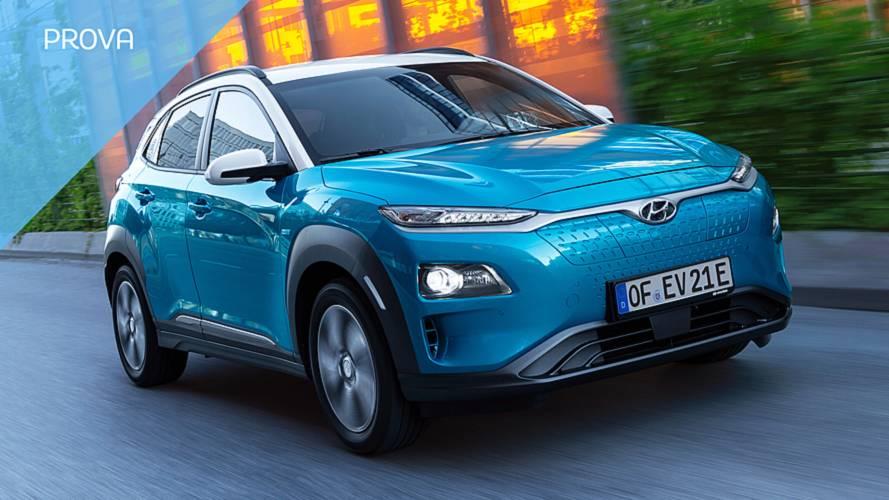 Hyundai Kona Electric, come va l'anti Tesla Model 3