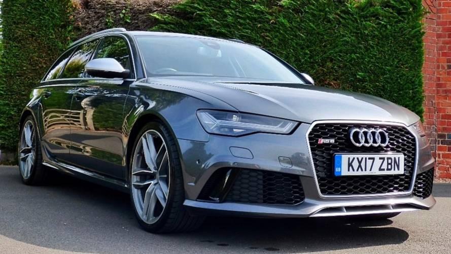 L'ex-Audi RS 6 Avant du prince Harry est en vente