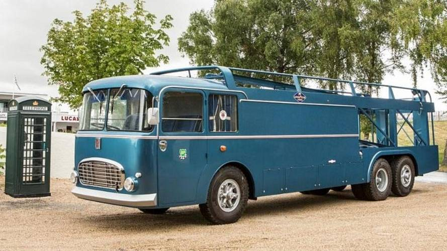 Famous F1 And Le Mans Transporter To Be Sold At Goodwood Revival