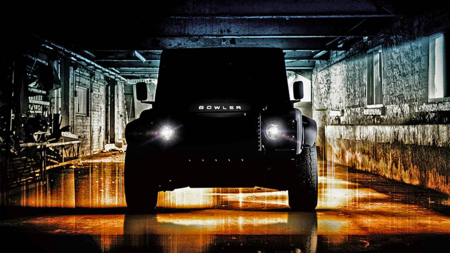 Bowler Previews New Hardcore Land Rover Defender V8