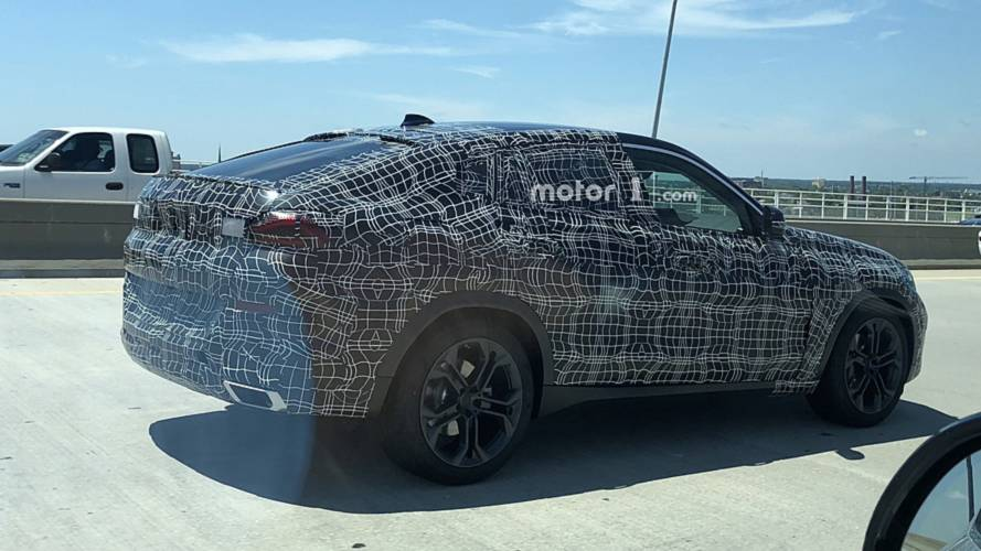 2020 BMW X6 spotted up close by Motor1.com reader