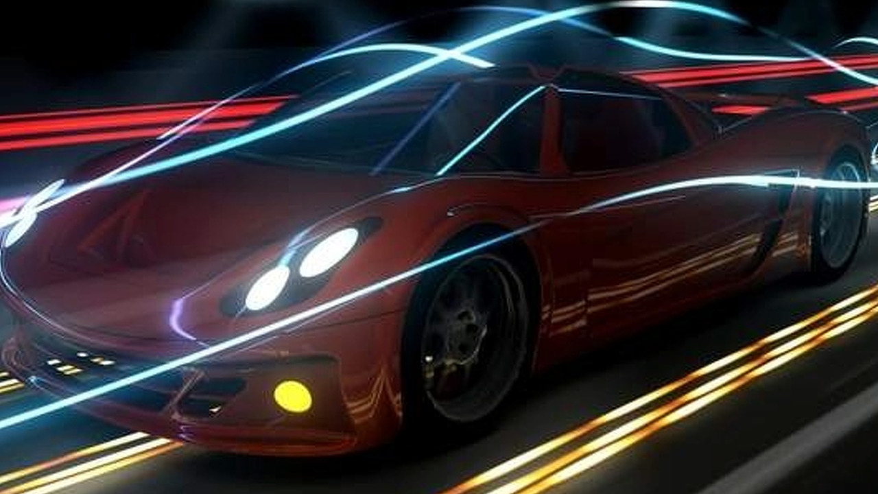 EV Innovations Inizio EVS super sports car - low res