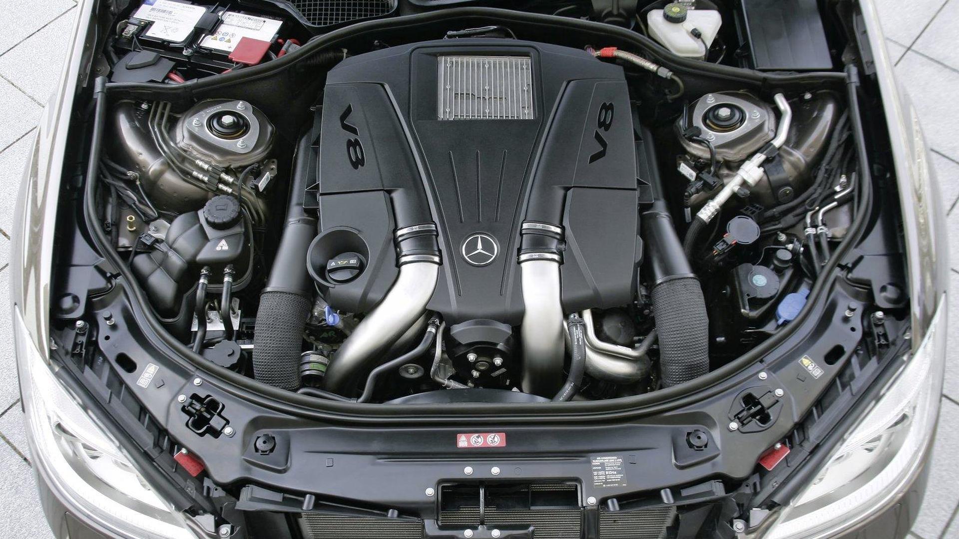 New Mercedes engines: 4.6-liter V8 biturbo and 3.5-liter V6 official ...