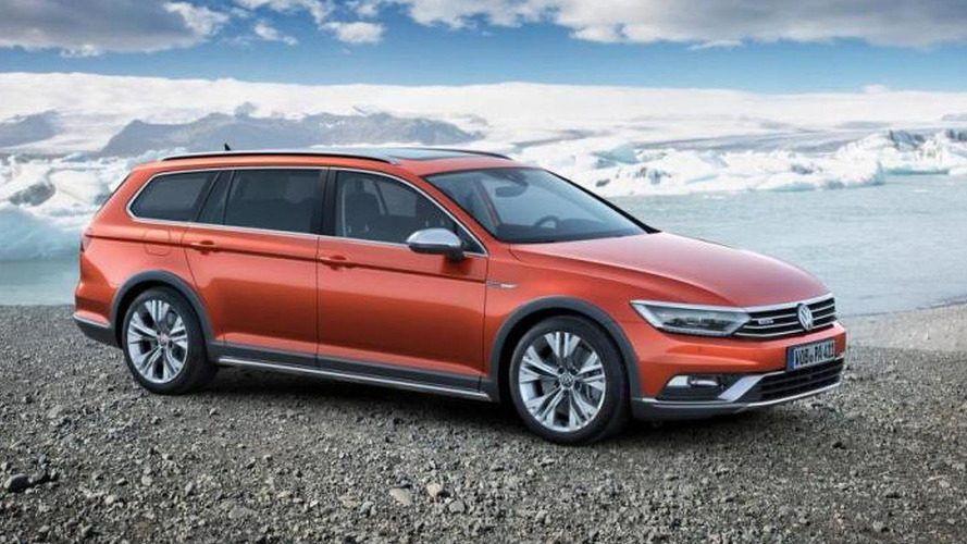 Volkswagen Passat Alltrack arrives in Geneva with increased ride height, rugged looks