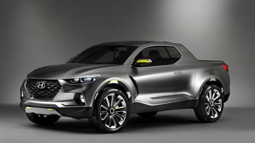 Hyundai Santa Cruz Pickup 2020 yılında ABD'de satışa çıkacak