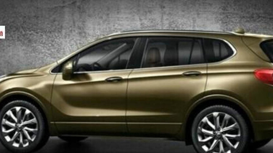 Buick Envision returns in additional official images