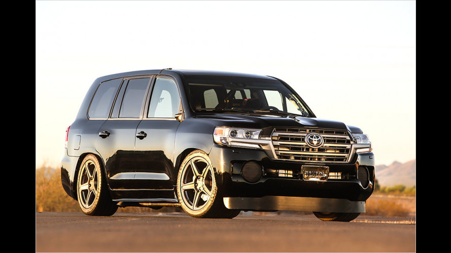 Toyota Land Speed Cruiser: Der Tempo-Titan
