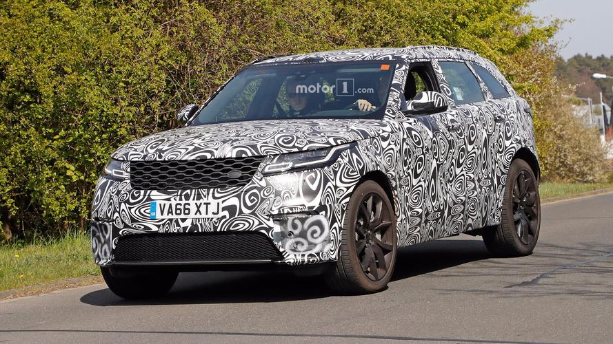 Photos espions - Le Range Rover Velar SVR pointe le bout de son nez