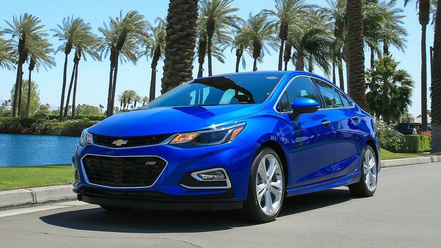 Chevrolet Cruze está em baixa nos EUA, Canadá e Coreia do Sul