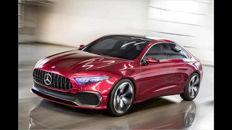 Mercedes Concept A Sedan: A-Klasse-Ausblick