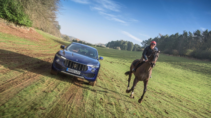 """Maserati Levante Battles A Horse In """"Ultimate Challenge"""" Video"""
