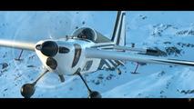 Lamborghini Aventador S contre avion